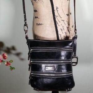 Tignanello Leather Crossbody/Shoulder/Wallet Bag